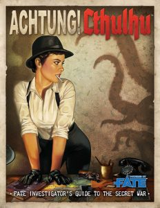 Achtung! Cthulhu Fate Investigator's Guide Cover