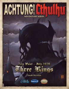 Achtung! Cthulhu Three Kings Cover