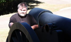 Jonathan with Cannon