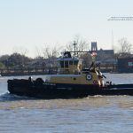 Tug on the Mississippi River