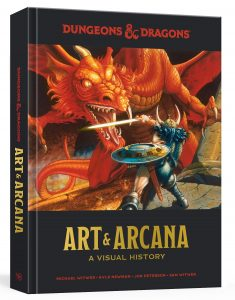 D&D Art and Arcana Cover
