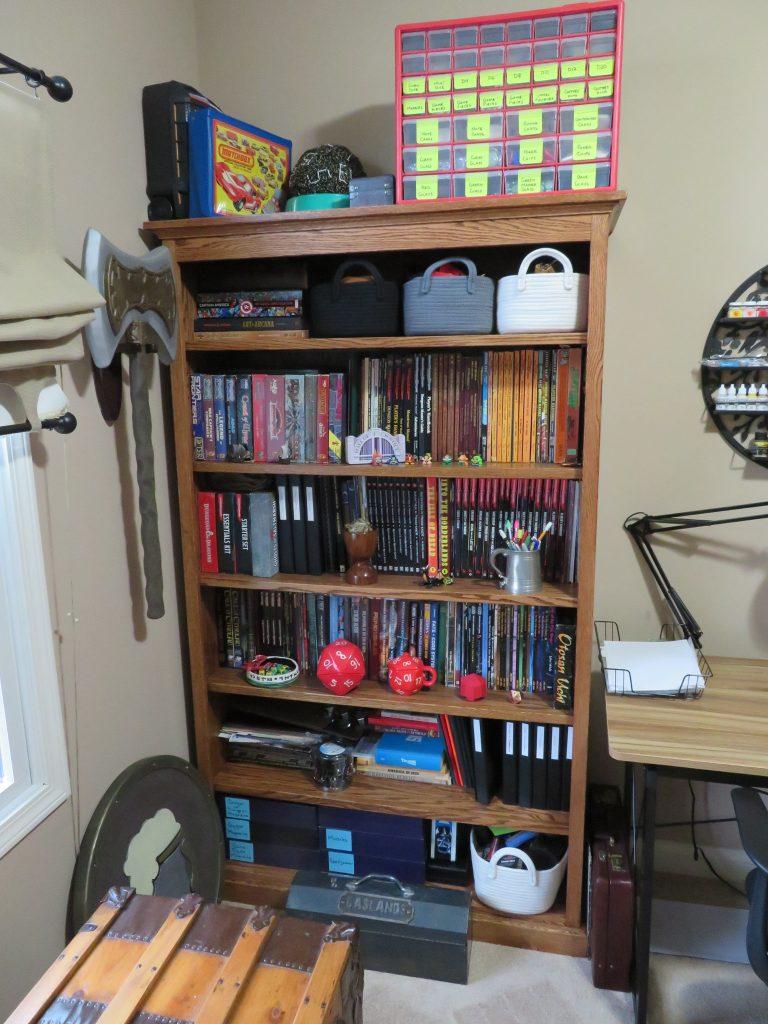 Hobby Room RPGs Bookcase