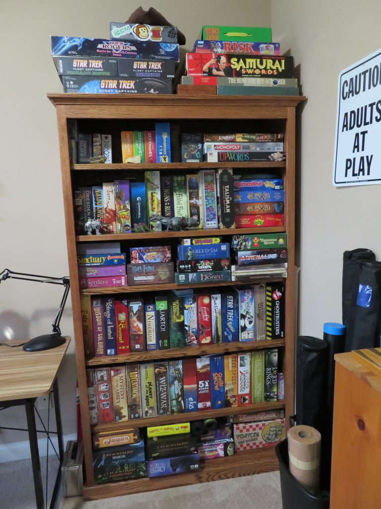 Hobby Room Tabletop Games Bookcase