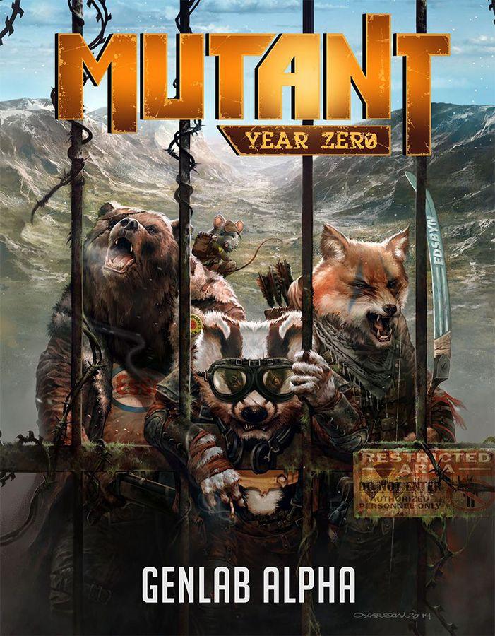 Mutant: Genlab Alpha RPG Cover