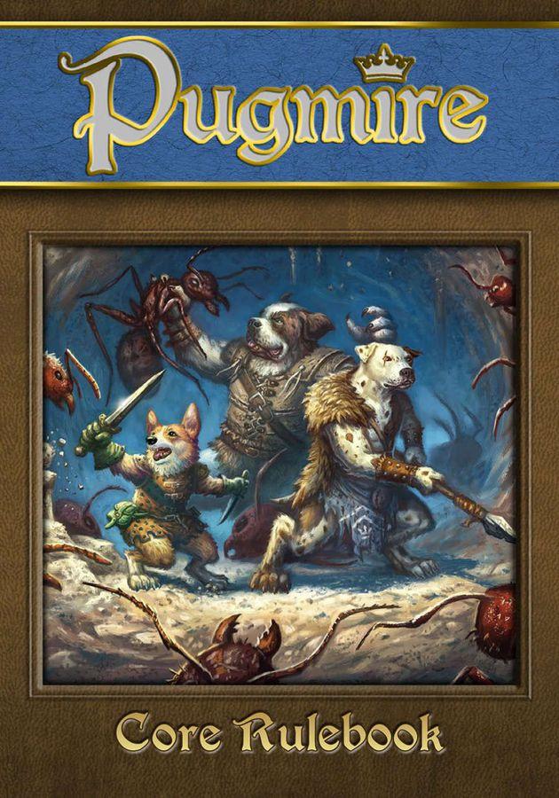 Pugmire RPG Cover