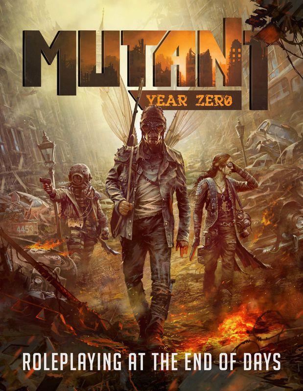 Mutant: Year Zero RPG Cover