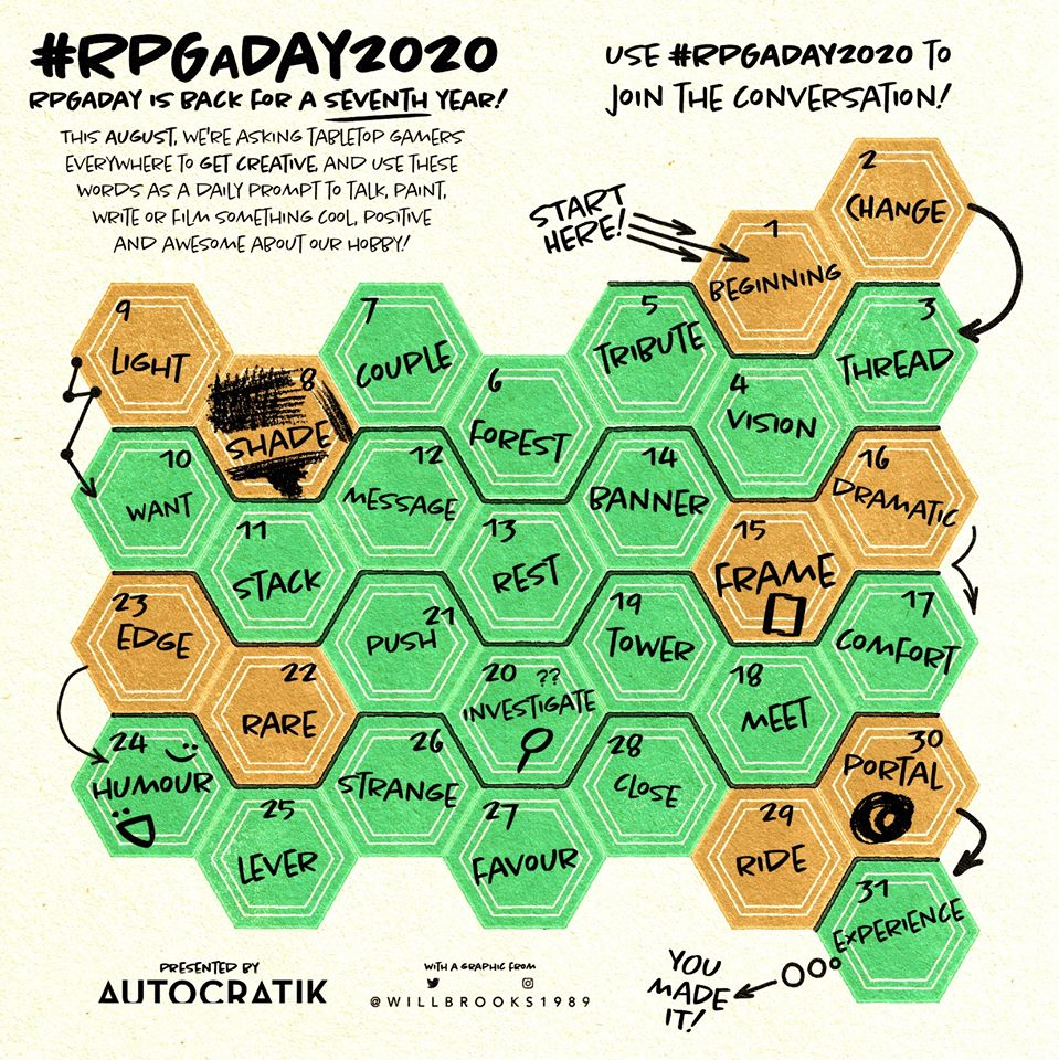 RPGaDAY 2020
