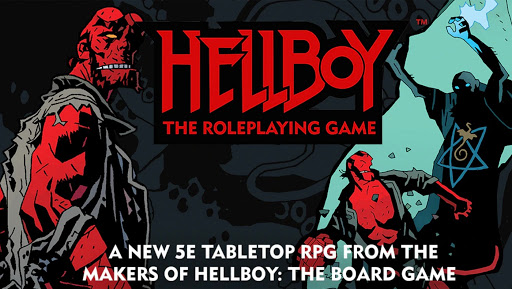 What's next with Hellboy: The Roleplaying Game?