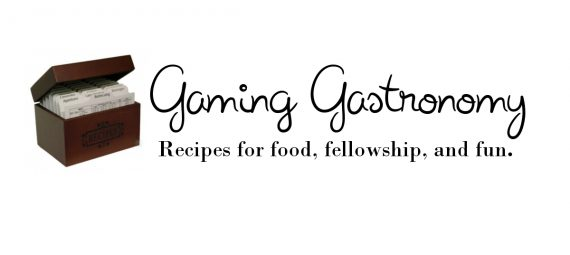 Gaming Gastronomy Header