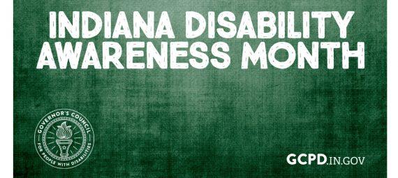 2020 - Indiana DisabIlity Awareness Month