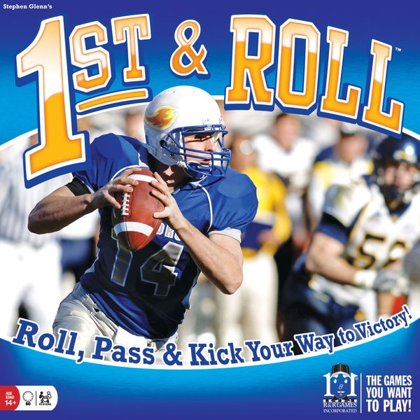 1st and roll game cover