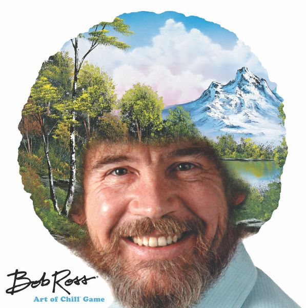 Bob Ross Art of Chill game cover