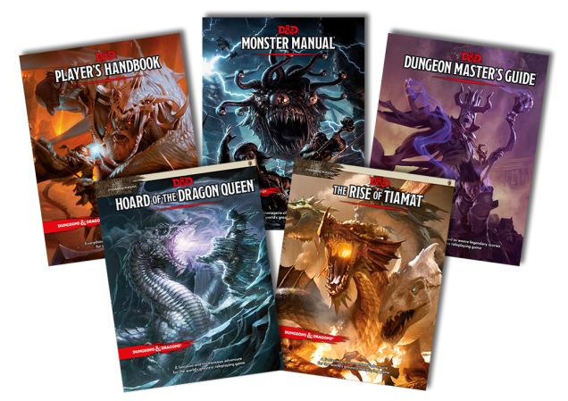 Dungeons-and-Dragons-5th-Edition covers