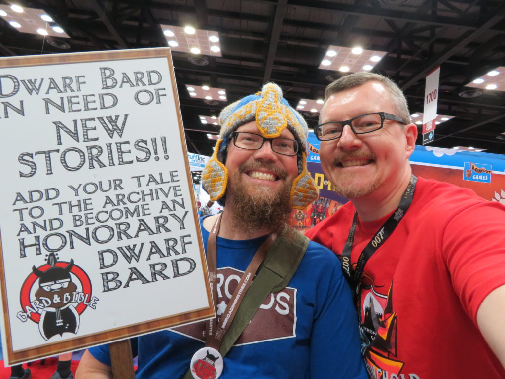 Gen Con 2019 - Michael Riddle and T.R.