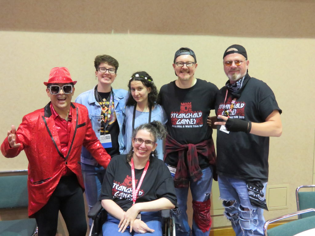 Gen Con 2019 - Thursday night Stronghold Games Event