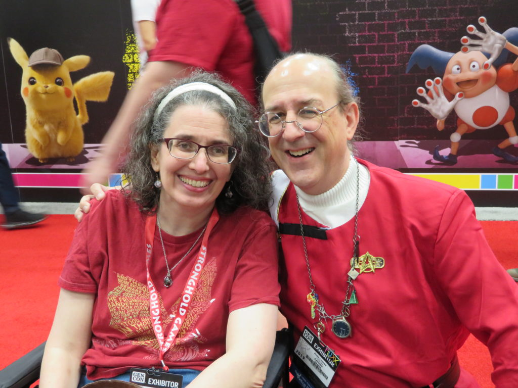 Gen Con 2019 - Angie and Andy Looney