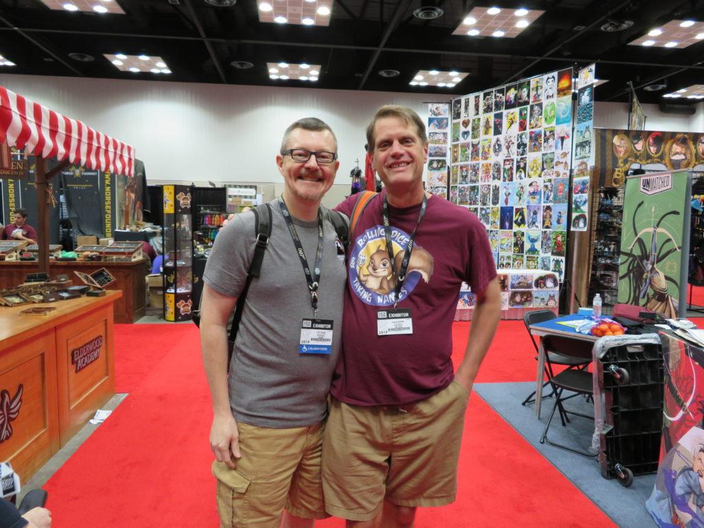 Gen Con 2019 - T.R. and Tony McRee of RTDN.