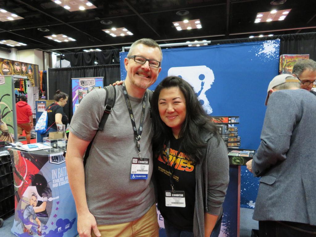 Gen Con 2019 - T.R. and Suzanne Sheldon