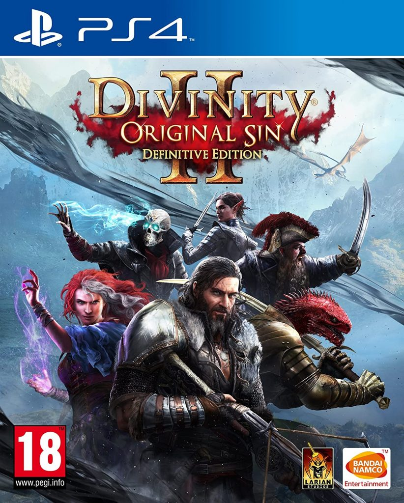 Divinity Original Sin 2 PS4 game cover