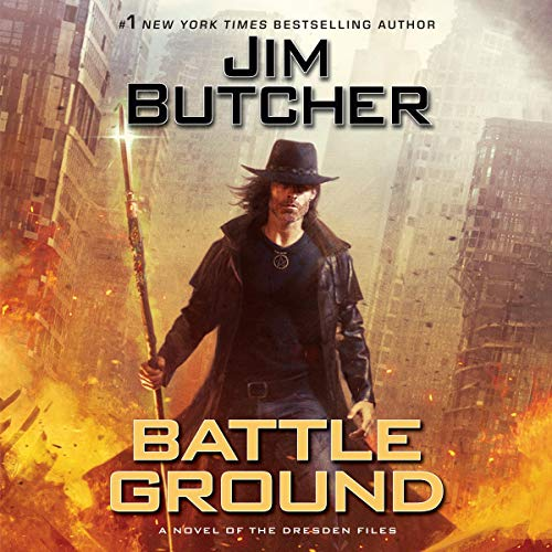 Audible books of the Dresden Files by Jim Butcher