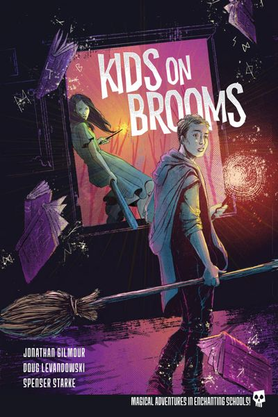Kids on Brooms rpg cover