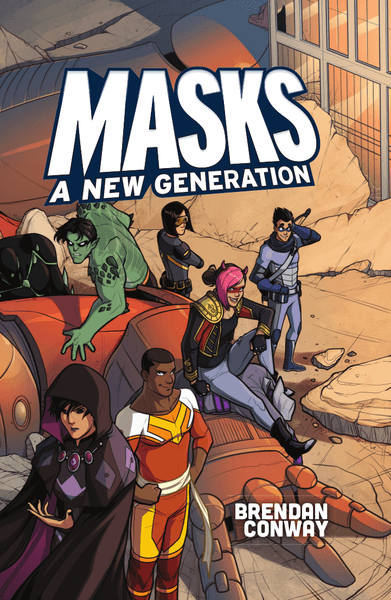 Masks A New Generation rpg cover