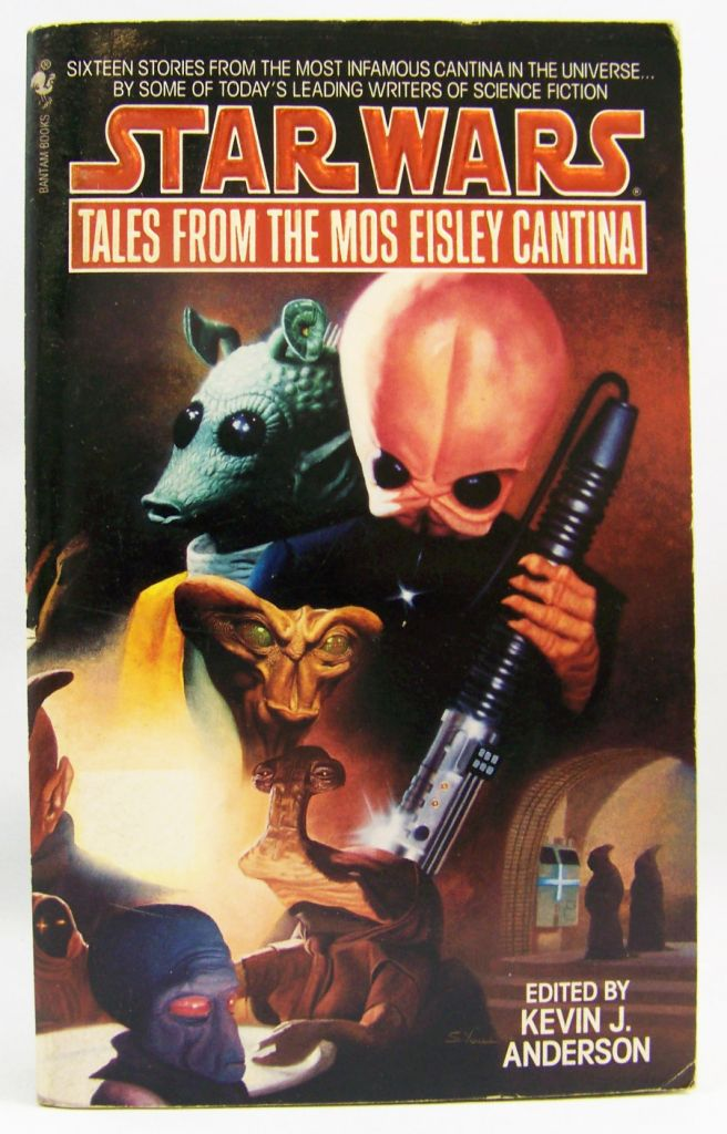 Tales from the Mos Eisley Cantina, Edited by Kevin Anderson book cover