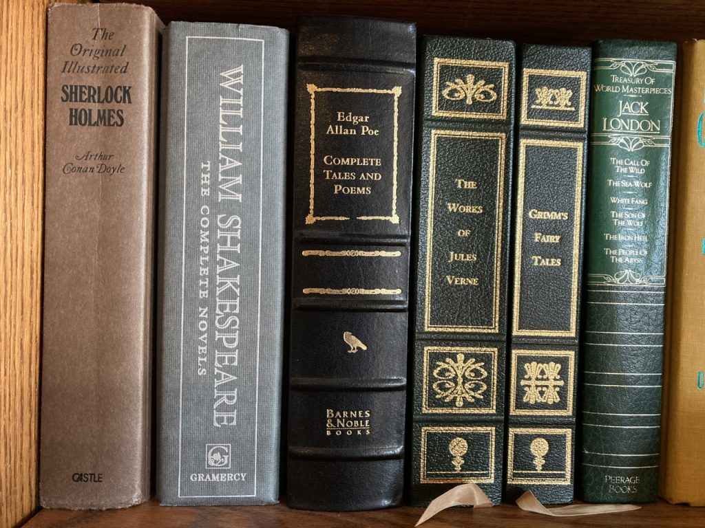 Classic books in my library