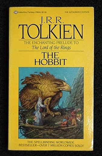 The Hobbit cover from 1982