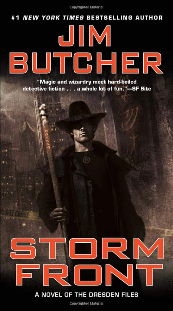 Dresden Files Storm Front cover