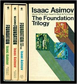 The Foundation Trilogy by Isaac Asimov covers