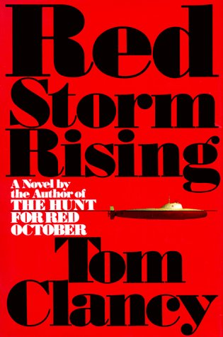 Red Storm Rising by Tom Clancy covers