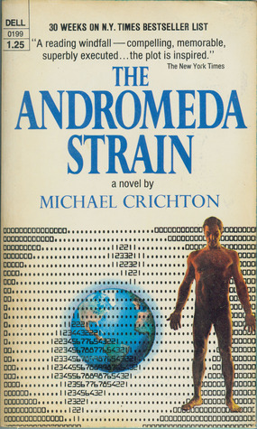 The Andromeda Strain by Michael Crichton covers