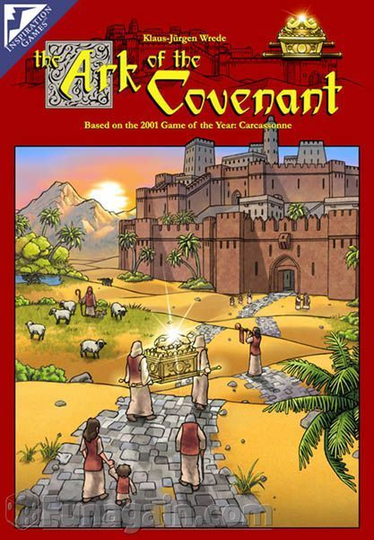 The Ark of the Covenant game box