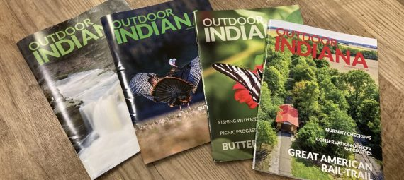 Outdoor Indiana Magazine Covers